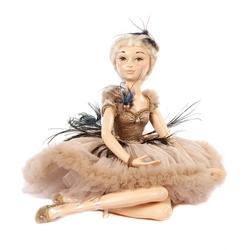 Balerina decorativa cu rochie superba