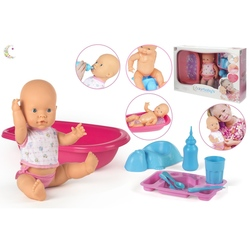 Bebelus care face pipi cu cadita+accesorii