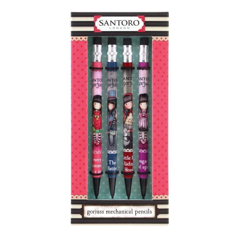 Set creioane 4 mecanice Gorjuss