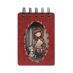 Carnetel cu spira Gorjuss Little Red Riding Hood
