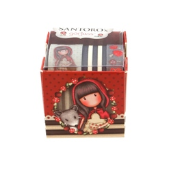 Set banda adeziva decorativa Gorjuss Little Red Riding Hood