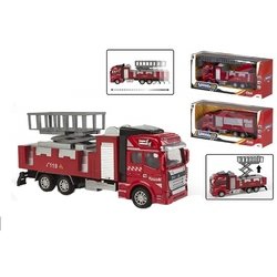 Masina pompieri diecast pull back