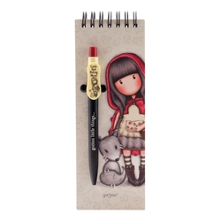 Carnet cu pix Gorjuss Little Red Riding Hood