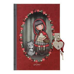 Jurnal cu cheita Gorjuss Little Red Riding Hood