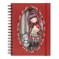 Jurnal cu spira Gorjuss Little Red Riding Hood
