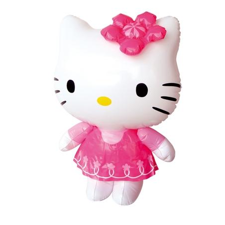 Floare gonflabila Hello Kitty