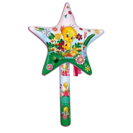 Jucarie stea gonflabila Tweety 70 cm