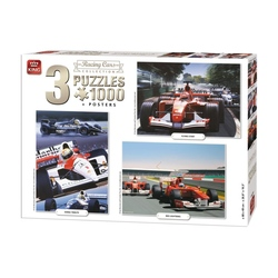 Puzzle 3x1000 piese Colectia raliuri