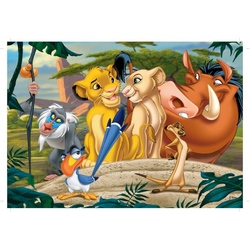 Puzzle 24 piese modele asortate Lion King