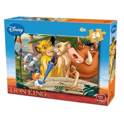 Puzzle 24 piese modele asortate Lion King