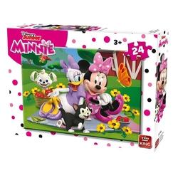 Puzzle 24 piese modele asortate Minnie Polka