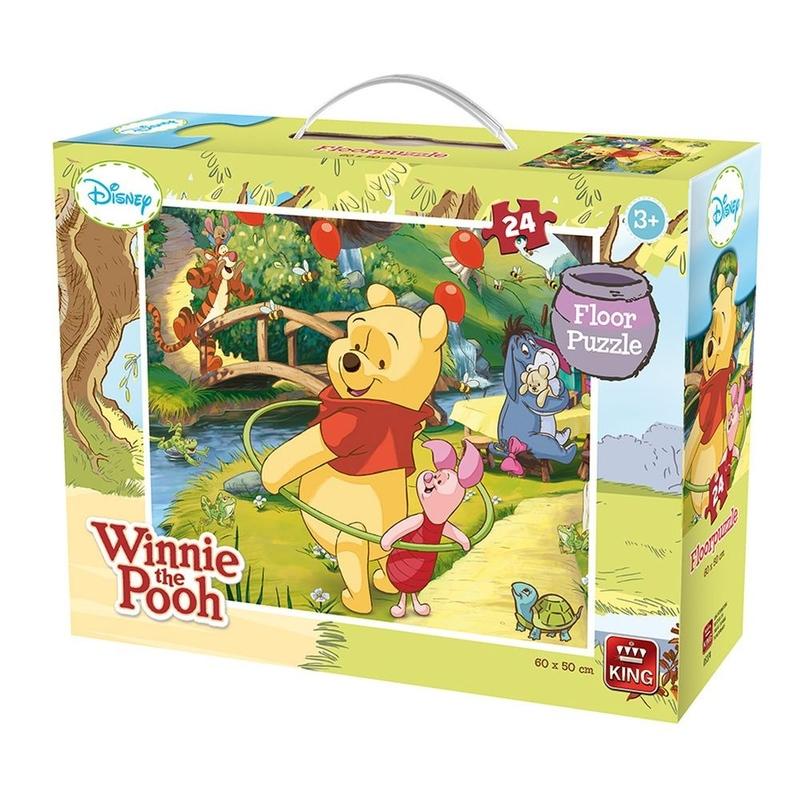 Puzzle 24 piese de podea Winnie The Pooh
