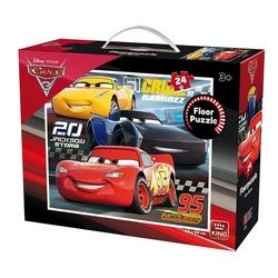 Puzzle 24 piese de podea Cars3