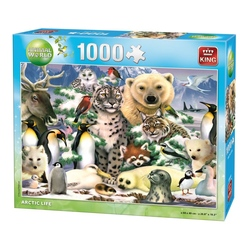 Puzzle 1000 piese Animal world-Arctic life