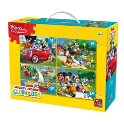 Puzzle 4in1 Mickey Mouse