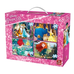 Puzzle 4in1 4 Princesses