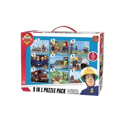 Puzzle 9in1 Fireman sam