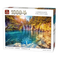 Puzzle 1000 piese Plitvice Lake