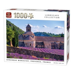 Puzzle 1000 piese Senanque Monastry, Provence, France