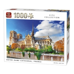 Puzzle 1000 piese Notre Dame De Paris Cathedral, France