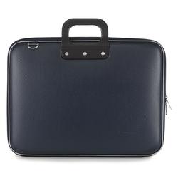 """Geanta lux business/laptop 17"""" Maxi Bombata-Albatru inchis"""