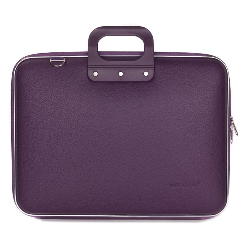 """Geanta lux business/laptop 17"""" Maxi Bombata-Visiniu"""