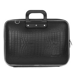 "Geanta lux business/laptop 15"" Cocco Bombata-Negru"