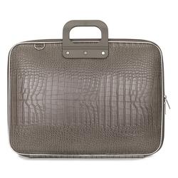 "Geanta lux business/laptop 17"" Cocco Bombata-Grej"