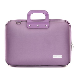 Geanta lux business laptop 15.6 in Clasic nylon Bombata-Lila