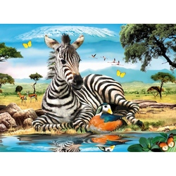 Puzzle 4 in 1 Animale