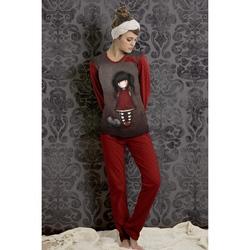 Pijama fete in cufar Santoro Gorjuss - Ruby, lungi