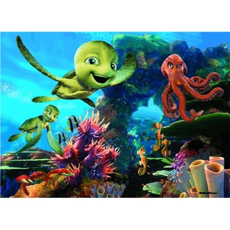 Puzzle 3D Lumea subacvatica 99 piese