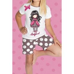 Pijama copii Santoro Gorjuss - Ladybird, scurte