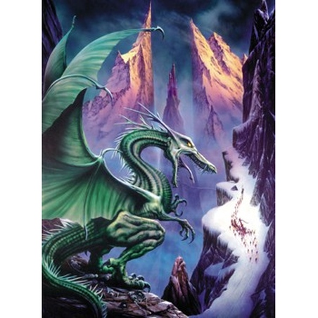 Puzzle Mystery Dragonul de nord 1000 piese