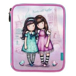 Gorjuss Cityscape penar dublu echipat - Friends Walk Together