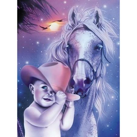 Puzzle Gilda Belin Cowboy 1000 piese