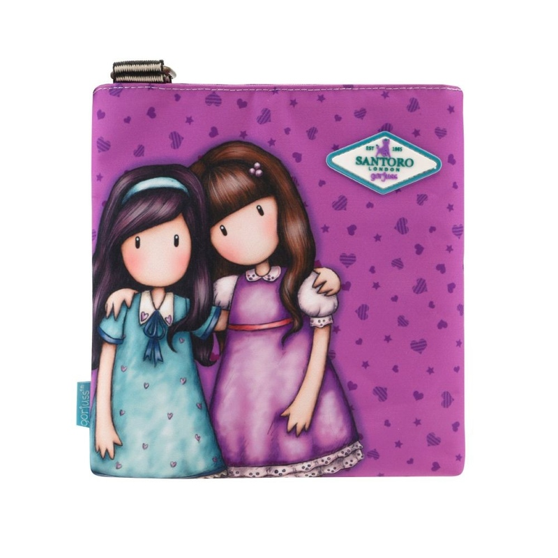 Gorjuss Cityscape geanta de umar mica - Friends Walk Together