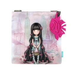 Gorjuss Cityscape geanta de umar mica - Rosebud