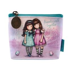 Gorjuss Cityscape portofel monede - Friends Walk Together