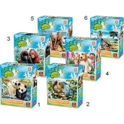 Puzzle 35 piese - Lumea animala