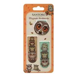 Grumpy Owl Set semne de carte magnetice