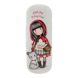 Gorjuss Stripes - Etui ochelari - Little Red Riding Hood