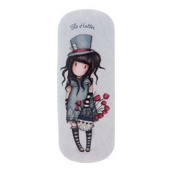 Gorjuss Stripes - Etui ochelari - The Hatter