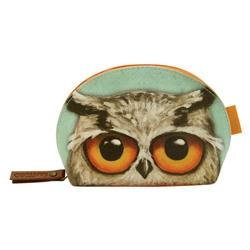 Grumpy Owl Pouch forma scoica