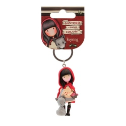 Gorjuss - Breloc figurina-Little Red Riding Hood