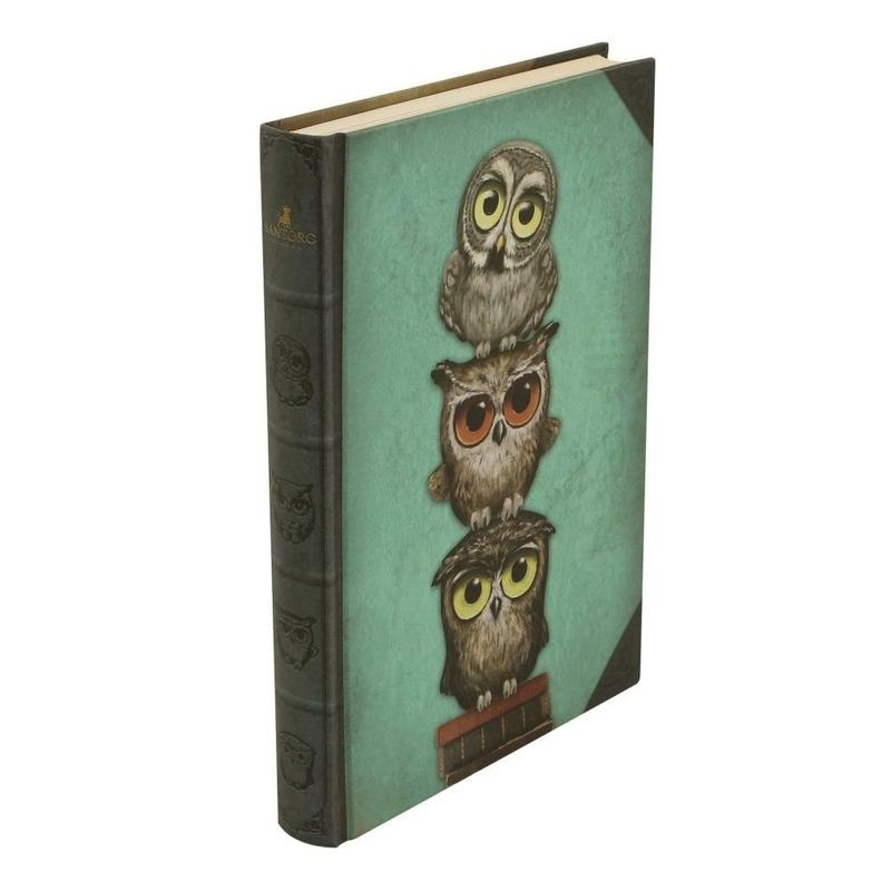 Grumpy Owl Agenda coperti tari