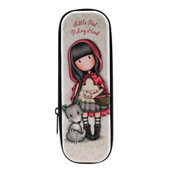 Gorjuss Cutie metalica cu fermoar - Little Red Riding Hood