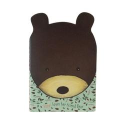 Poppi Love Carnetel profilat Bear