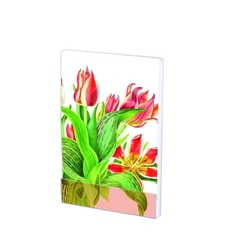 Carnet notite A7, 32 pg, Tulipa 'Plaisir' Anita