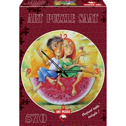 Puzzle 570 p.Ceas Love in red - YURY MATSIK